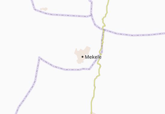 Carte-Plan Mekele