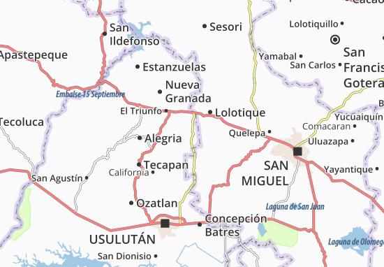 Jucuapa Map