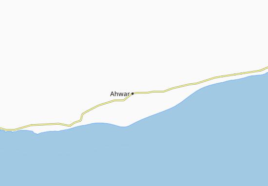 Kaart Plattegrond Ahwar
