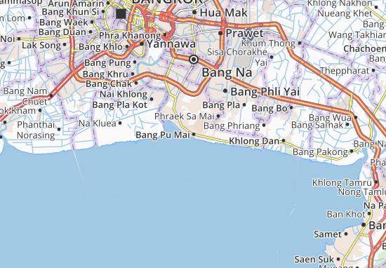 Bang Pu Mai Map