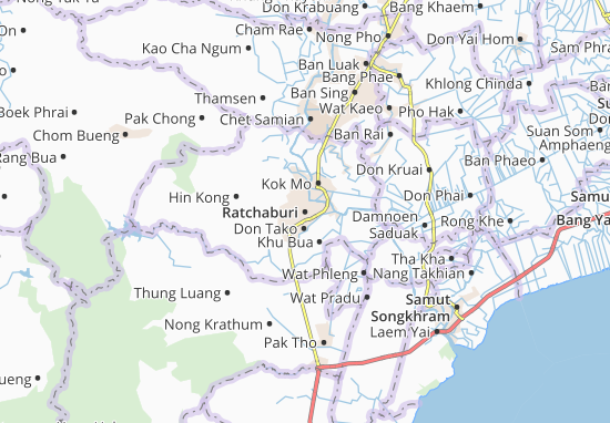 Mappe-Piantine Ratchaburi