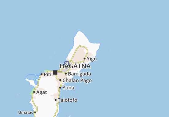 Mapa Plano Yigo