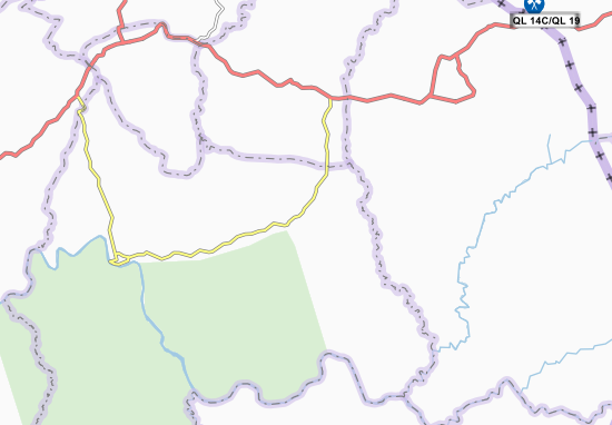 Carte-Plan Phumi Kamang Chong
