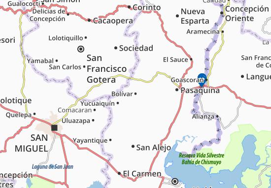 Bolívar Map