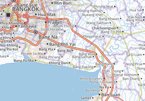 Bang Bo Map