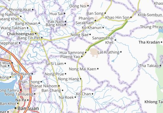 Mapas-Planos Plaeng Yao