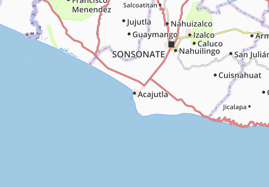 Acajutla Map