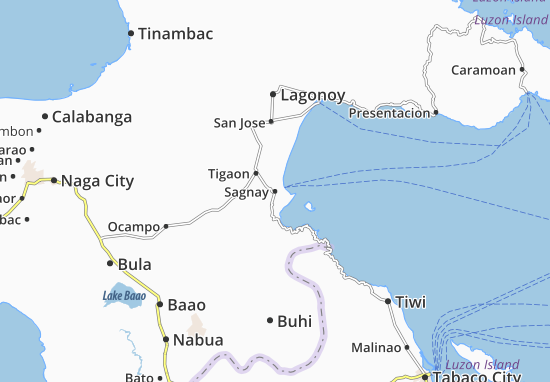 Mappe-Piantine Sagnay