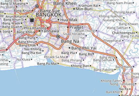 Bang Phli Yai Map