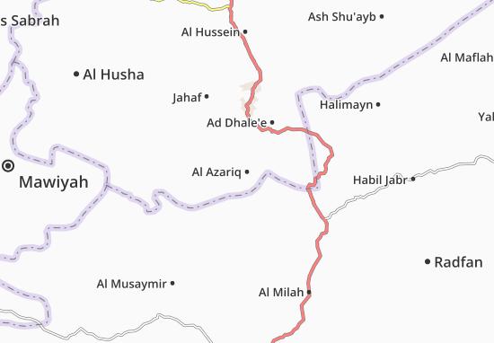 Al Azariq Map