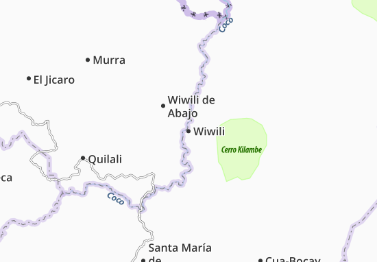 Wiwili Map