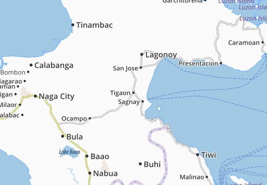 Mappe-Piantine Tigaon