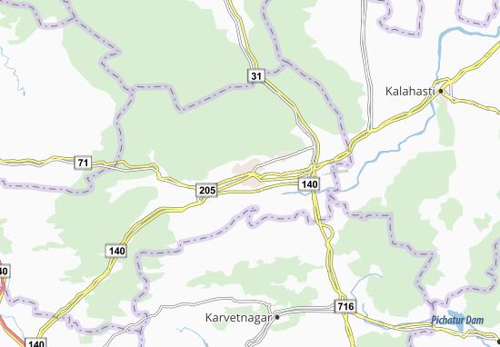 Renigunta Map