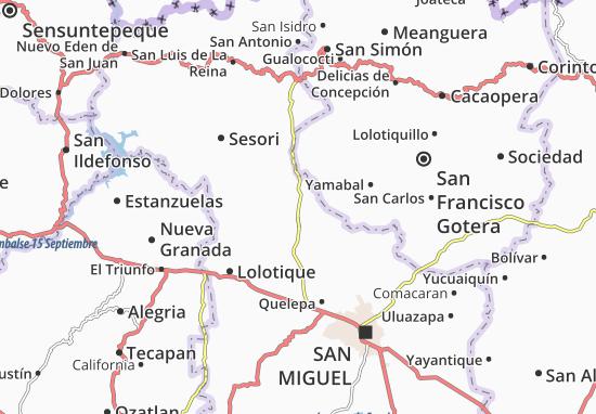 Chapeltique Map