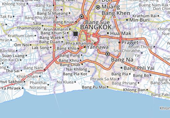 Mapas-Planos Bang Ya Phraek