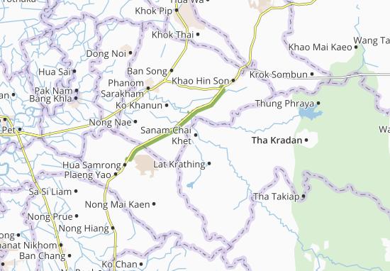 Mapas-Planos Sanam Chai Khet