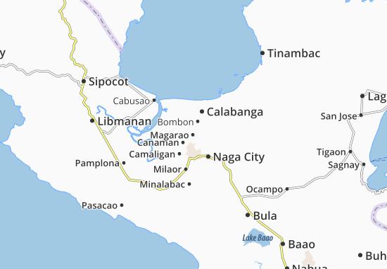 Kaart Plattegrond Magarao
