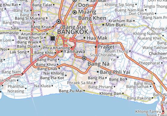Bang Na Map