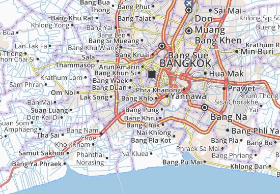 Chom Thong Map