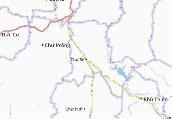 Mapas-Planos Chư Sê