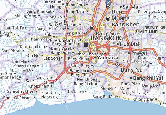 Mappe-Piantine Dao Khanong