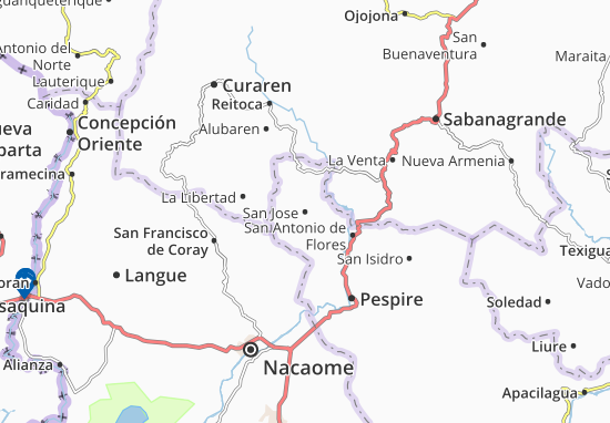 Map of San Jose Michelin San Jose map ViaMichelin – Tourist Attractions Map In San Jose