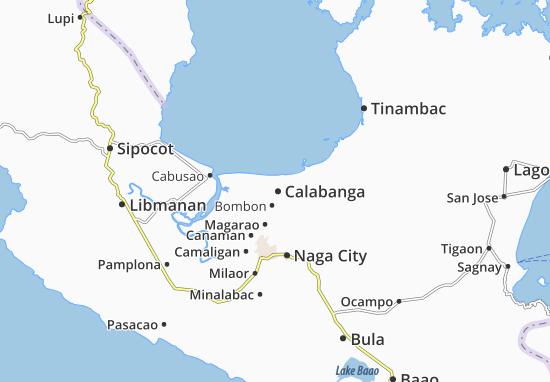 Mappe-Piantine Calabanga