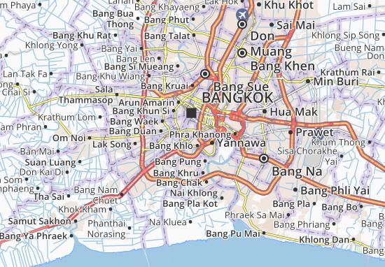 Mapas-Planos Bang Lamphu Lang