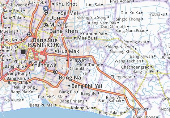 Lat Krabang Map