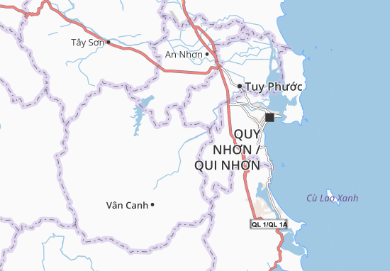 Mappe-Piantine Canh Vinh