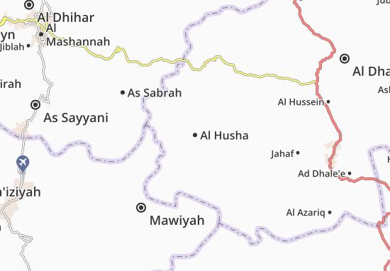 Carte-Plan Al Husha
