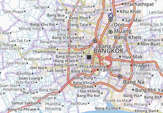 Mapas-Planos Bang Khun Si