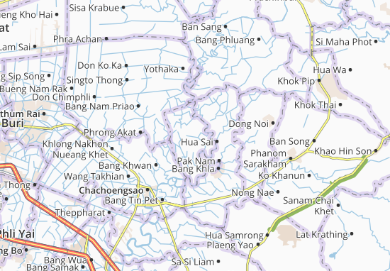 Khlong Khuean Map