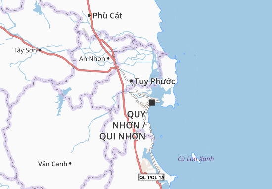 Mappe-Piantine Nhơn Phú
