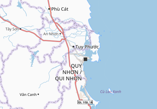 Mappe-Piantine Nhơn Bình