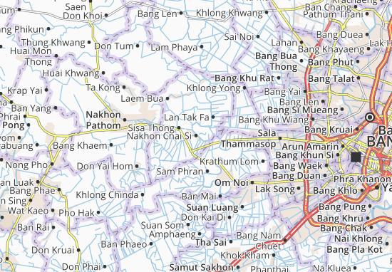 Nakhon Chai Si Map