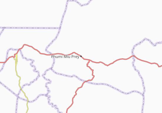 Carte-Plan Phumi Mlu Prey