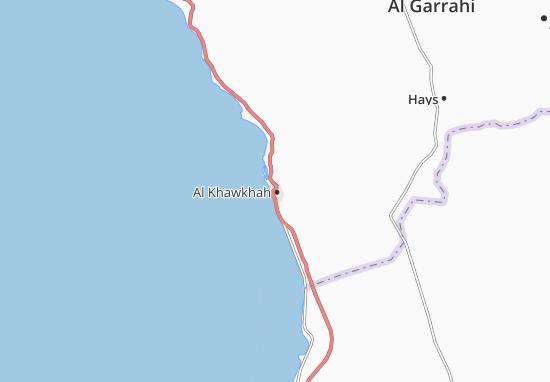 Kaart Plattegrond Al Khawkhah