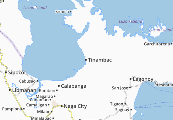 Mappe-Piantine Tinambac