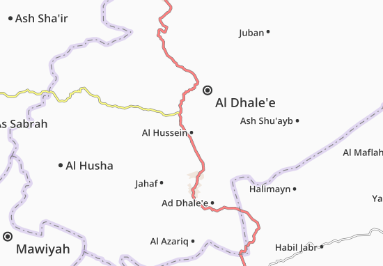 Carte-Plan Al Hussein