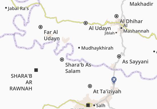Mudhaykhirah Map