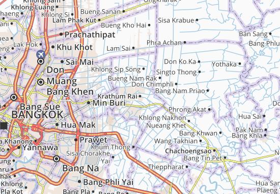 Krathum Rai Map