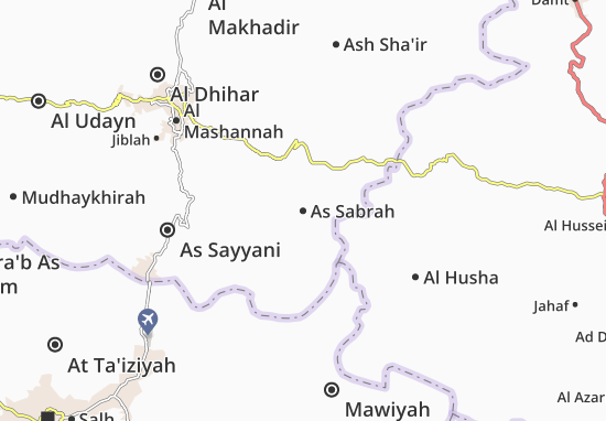 Carte-Plan As Sabrah