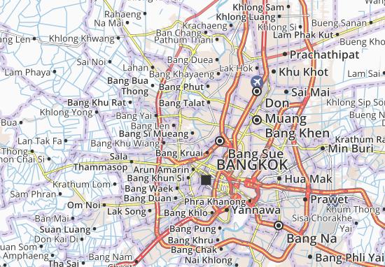 Mapas-Planos Bang Si Mueang