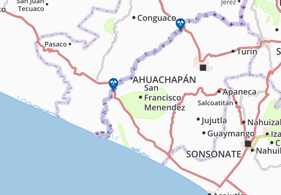 Carte-Plan San Francisco Menendez