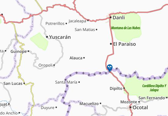 Carte-Plan Alauca