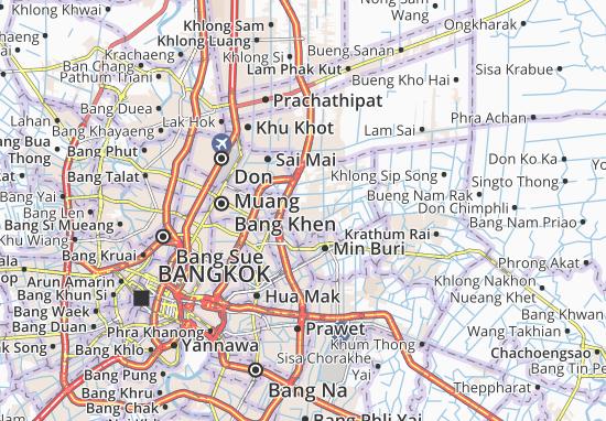 Khlong Sam Wa Map