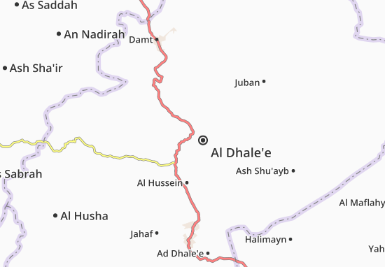 Mapas-Planos Al Dhale'e