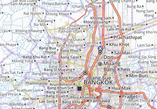 Pak Kret Map