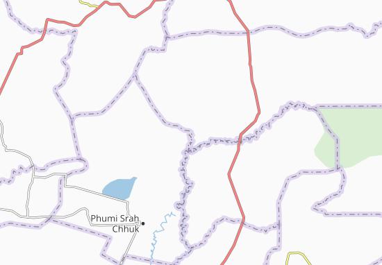 Carte-Plan Phumi Thnong Khang Cheung